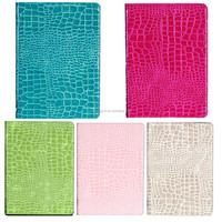 Fasion Luxurious crocodile design leather cover case for iPad mini 2/3