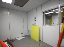 ISO 7 Certificated Clean Room for Microelectronics Facility