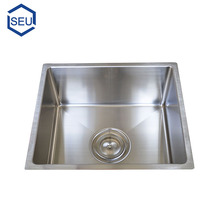 Modern stainless steel small upc undermount single bowl bar rv kitchen sink