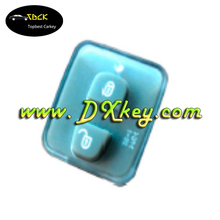 Chevrolet Captiva silicone rubber button pad 2 buttons key cap cover for waterproof key case