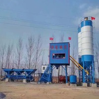 Wet ready mixed concrete batching plant with detailed technical specification