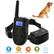 Rechargeable And Rainproof 330 Yard Remote dog training collar