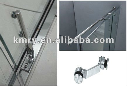 Stainless Steel Twin-size Hinge Bath Shower Door (KK8008)