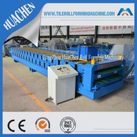 Galvanized Wave And IBR Double Roofing Sheet Making Machine, Cold ROLLER MACHINE