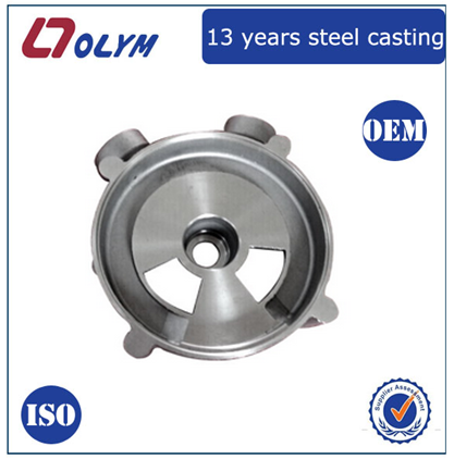 china manufacture customized stainless steel precision casting piston housing
