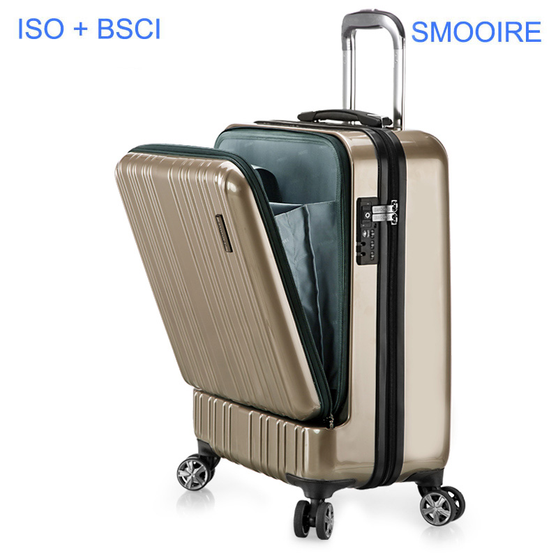 Business trip pure Polycarbonate PC Trolley luggage case