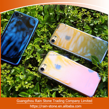 High quality blue light PC hard plastic customized mobile phone case For iPhone 6 / 6plus / 7/ 7plus