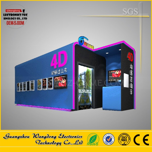 Wangdong factory 5D mobile movie theater /12d motion cinema system for sale