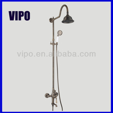 67601 Antique Brass Rain Shower Set
