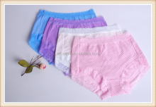 Colorful comfortable womens lace panties WM0278-2
