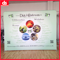 portable horizontal pop up banner