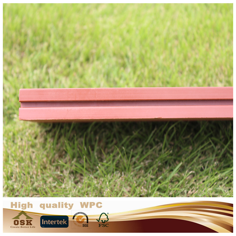 New design 100% recycled floor wood good price wood plastic composite decks anti-uv wpc decking