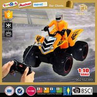 New design four wheel drive toy motorcycle rc motor for boys