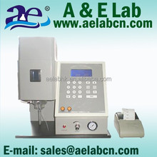aelab automatic digital flame luminometer/photometer for testing k, na, li ca, ba element