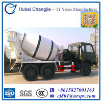 6WD Adopts Military Chassis Concrete Mixer Truck for sale
