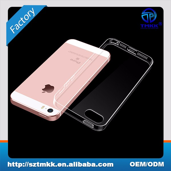 Factory Supply for iPhone 5S Case, for iPhone 5S Clear Case , for iPhone 5S Mobile Phone Soft Case 0.6mm TPU