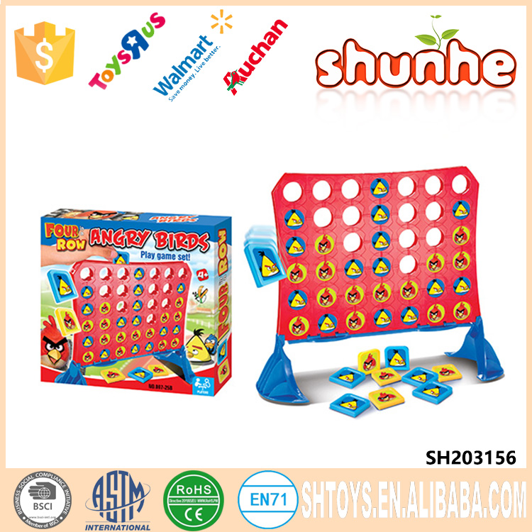 Hot Selling Kid Toy The bird Connect Four Games Plastic Toys Educational