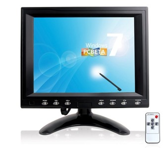 8 inch VGA touch screen Monitor