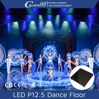 Hot sale led video dance floor charming floor panel display for fashion show