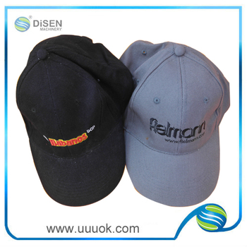 100% cotton custom embroidered hats