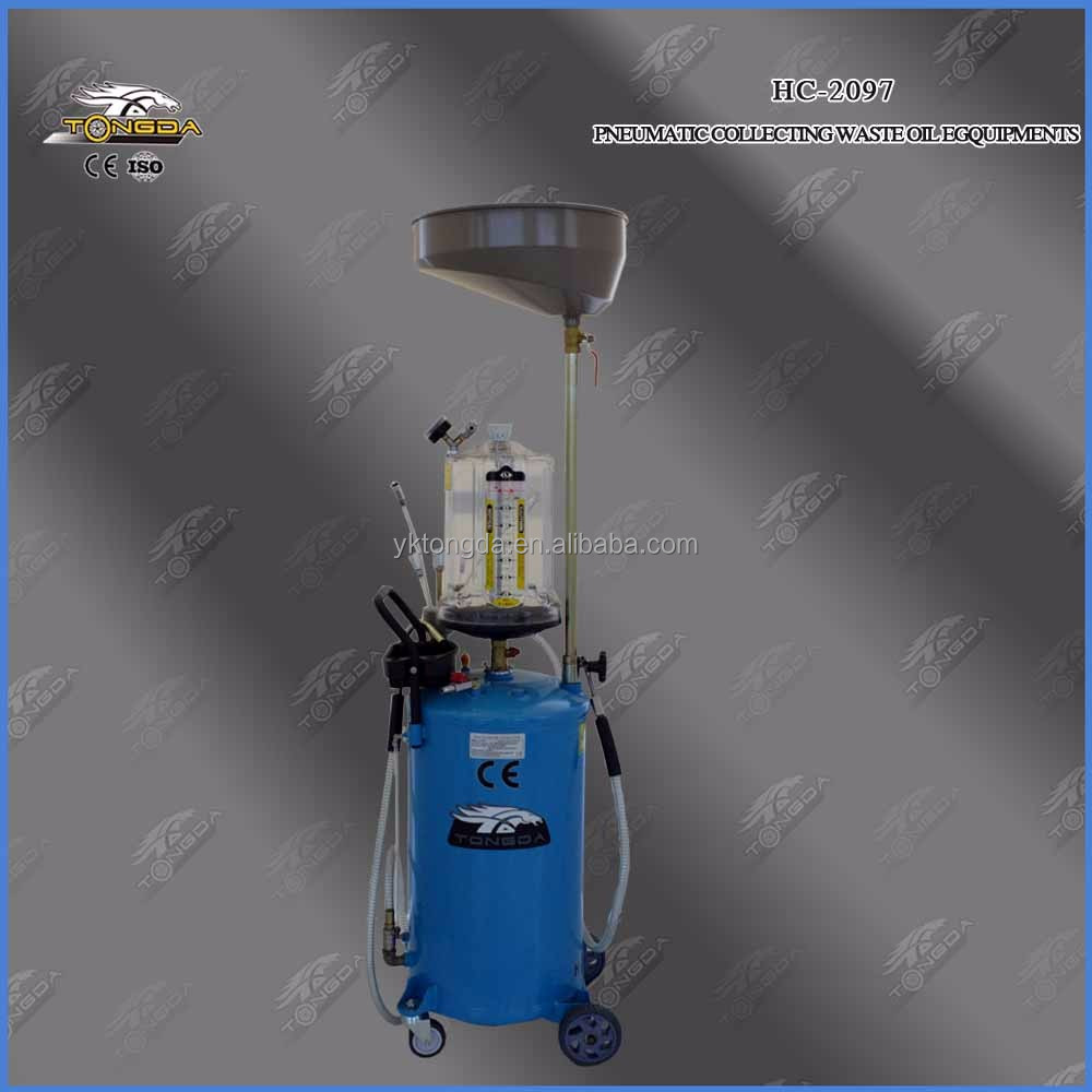 Car Oil Collector High Quality Tongda HC-2097 PNEUMATIC COLLECTING WASTE OIL with CE for sale