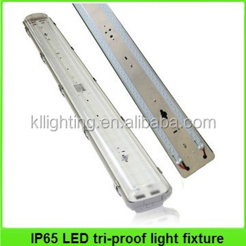 5ft 1500mm Ip65 Led Vapor Tight Light Fixture With Sensor And ...