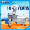 Double Screw apple juicer/orange juice making machine/fruit and vegetable juice presser