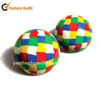 multi-color sport bounce ball