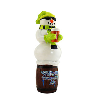 New Arrival Funny Design Snowman Beer Tap Handle