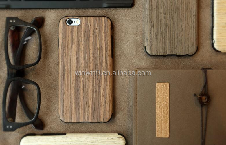 2016 newest real wood and very thin wood phone cover case for iphone 6s