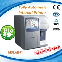 Cheapest fully automatic 3-part hematology analyzer /blood analysis system clinical instruments MSLAB01-R