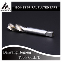 ISO METRIC SPIRAL FLUTED MACHINE HSS TAPS