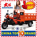 China BeiYi DaYang Brand 150cc/175cc/200cc/250cc/300cc Gas Motor Tricycle Water Tricycle Bike for Cargo