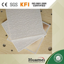 TENGYUAN brand pvc laminated gypsum ceiling tiles / board
