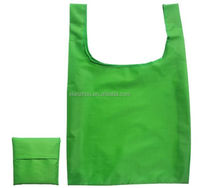 Promotional customized Polyester Foldable shopping Bag hot sell foldable nylon bag