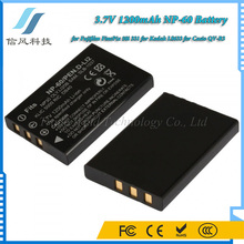 3.7V 1200mAh NP-60 Battery for Fujifilm FinePix 50i 331 for Kodak LS633 for Casio QV-R3