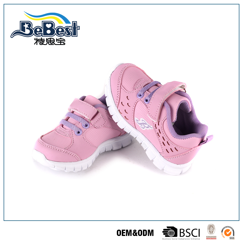 Fashion Style oem 2016 kids sneakers custom new models sport shoes