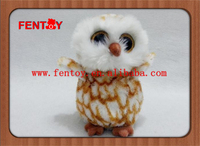 Personalized Realistic giant stuffed animals owl toys for sale