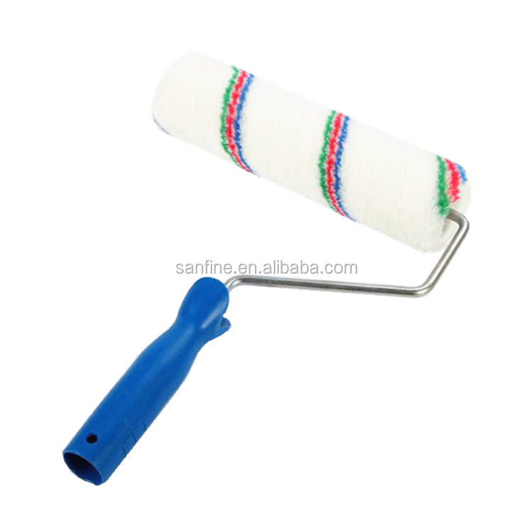 Refillable Household Portable Knitted Polyester Paint Roller Pattern Brush