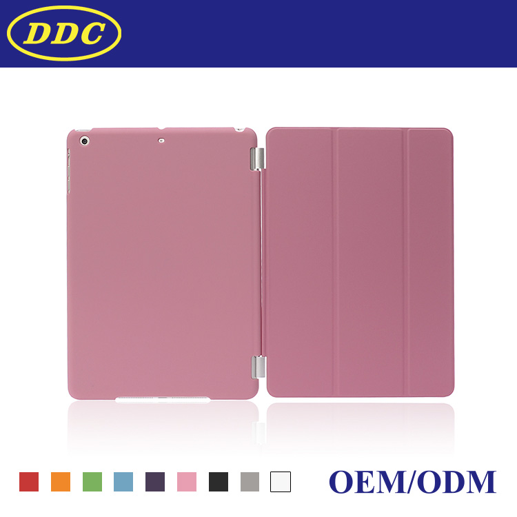 Merge Cover with Transparent and Solid Back Case For ipad