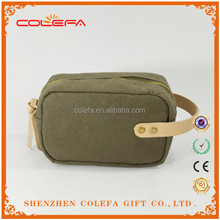 2017 Newest eco-friendly gift washable kraft paper cosmetic bag