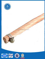 Carrier cable for Electrical Railway /Stranded Copper cable