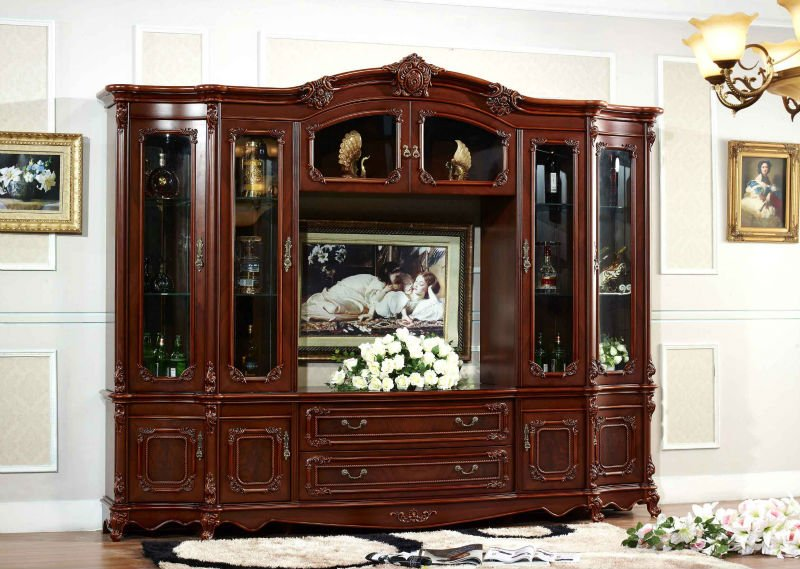 2014 new classic TV cabinet,can put 42' LCD TV.