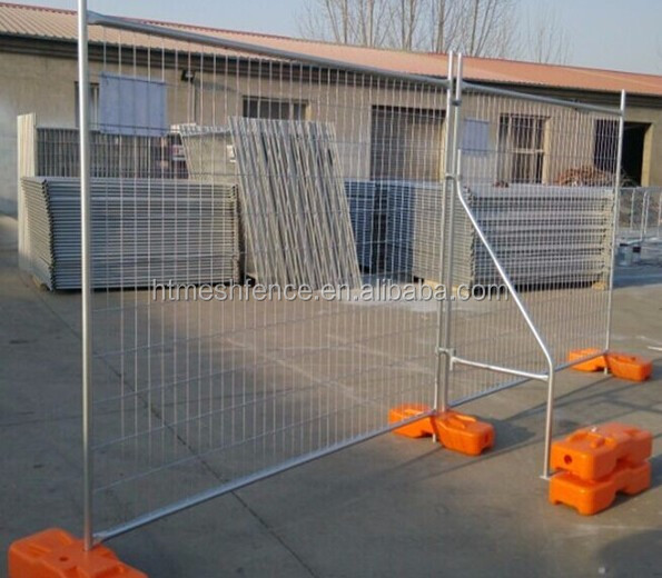 hot-dipped galvanized construction site Australia temporary fence panel