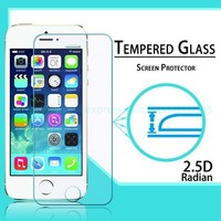 2.5D Color Tempered Glass For Iphone 5 5S 5C 6 Screen Protector Front Back