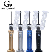 Replaceable Heating Base Ceramic Bowl Vaporizer Dry Herb And Wet Vaporizer Health Care Product G9 Henail Plus
