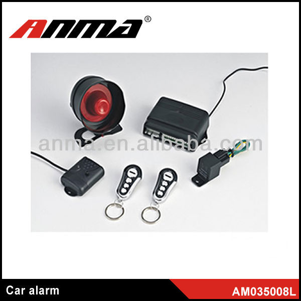 manual car alarm system/smart phone car alarm/two way gsm module car gps tracker with acc alarm