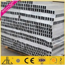 Factory hot sale Tanzania market slotted aluminium profile foshan with different surface treatment