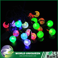Pellet Decorative Led String Light With RGB Color,Led Christmas Decoration String Light