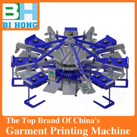 Automatic T-shirt Screen Printing Machine